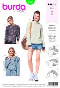 6406 Burda Pattern: Ladies Longsleeved Tops